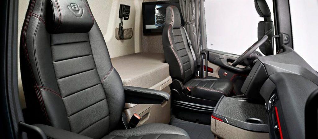 Scania Interior